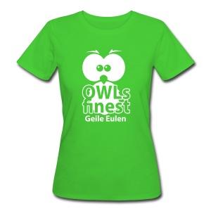 Geile Eulen Ladys 100% Bio-Baumwolle - Frauen Bio-T-Shirt