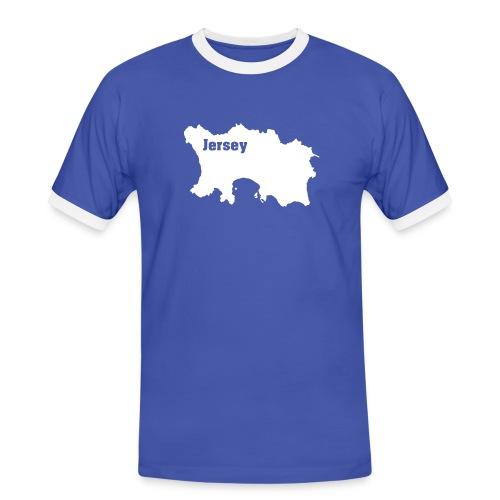 T-Shirt Jersey, Channel Islands - Männer Kontrast-T-Shirt