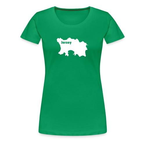 T-Shirt Jersey, Channel Islands - Frauen Premium T-Shirt