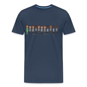 Men T-Shirt - N.Castle 2013 - Men's Premium T-Shirt