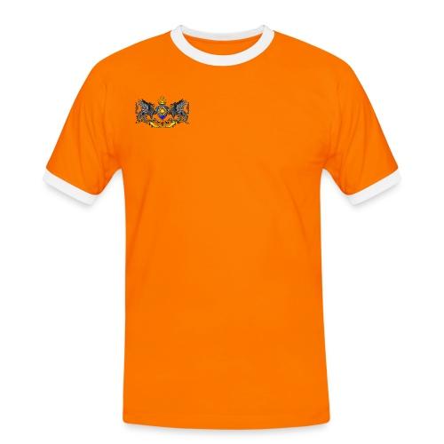 T-Shirt Kontrast - Männer Kontrast-T-Shirt
