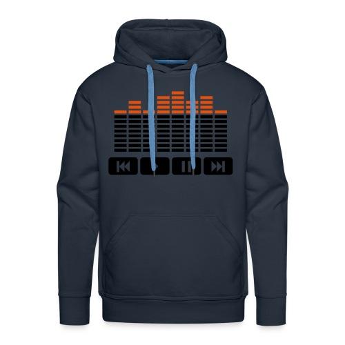 MP3 Sweater - Mannen Premium hoodie