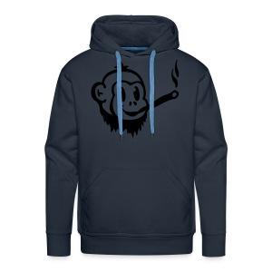 Weed Monkey Sweater - Mannen Premium hoodie