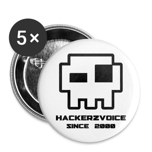 HZV logo 5pack badge - Buttons medium 32 mm