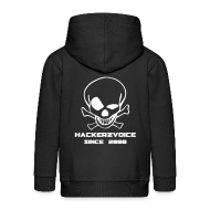 Hoodies ~ Kids' Premium Zip Hoodie ~ Old Skull jacket 4 kid 1337