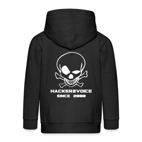 Old Skull jacket 4 kid 1337 - Kids' Premium Zip Hoodie