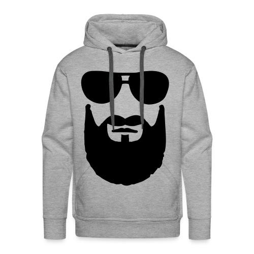 Grijze trui. - Mannen Premium hoodie