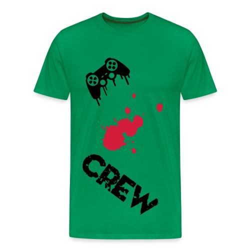 Crew Gamer Homme - T-shirt Premium Homme