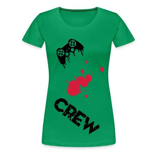 Crew Gamer Femme - T-shirt Premium Femme