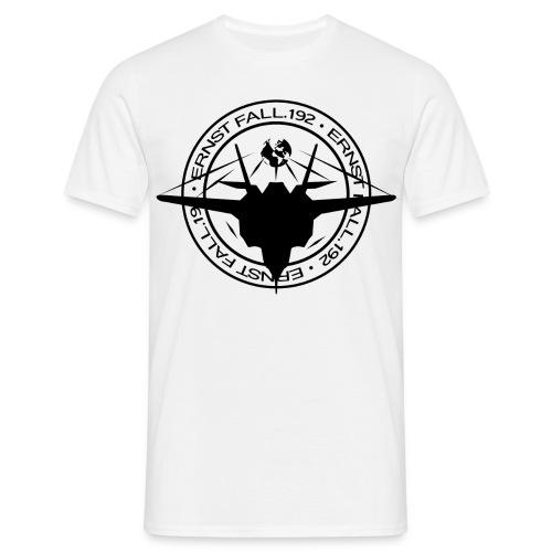 ERNST FALL T-SHIRT LOGO Schwarz - Männer T-Shirt