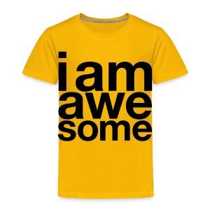 I Am Awesome T-Shirt - Kids' Premium T-Shirt