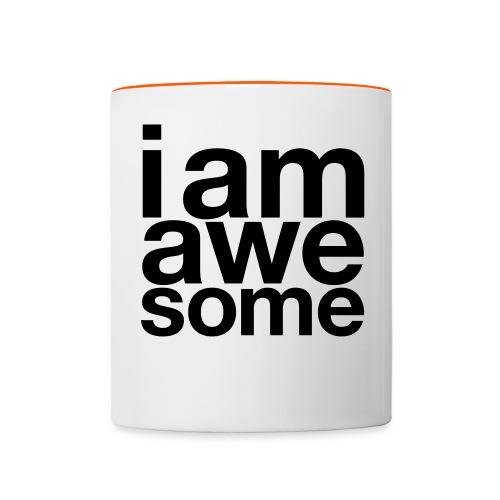 I Am Awesome Mug - Contrasting Mug