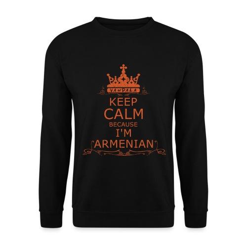 KEEP CALM BECAUSE I'M ARMENIAN  (men) - Männer Pullover