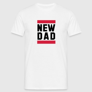 NEW DAD Funny Pregnancy Design T-Shirt BR - Herre-T-shirt