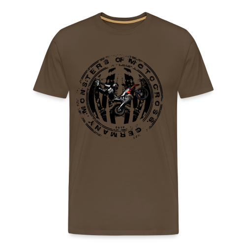 Stamp # Monsters of Motocross - Männer Premium T-Shirt