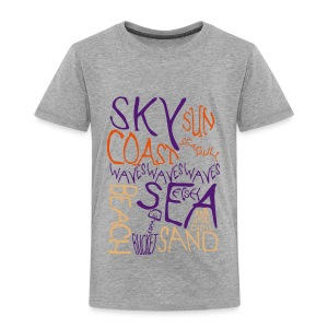 Coastal Illustration Kid's premium Tee - Kids' Premium T-Shirt