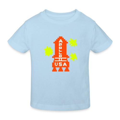 WRZ_53_BLUE_H - Kinder Bio-T-Shirt