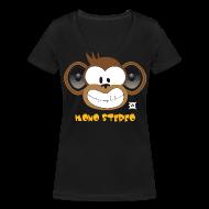 T-Shirts ~ Women's V-Neck T-Shirt ~ Mono Stereo standard TSCW Woman