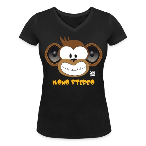 Mono Stereo standard TSCW Woman - Women's Organic V-Neck T-Shirt by Stanley & Stella