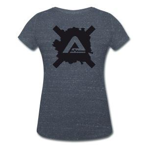Logo TS standard Woman - Women's Organic V-Neck T-Shirt by Stanley & Stella