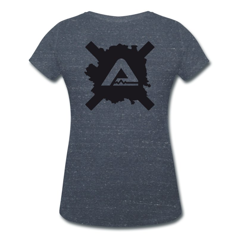 Logo TS standard Woman - Women's V-Neck T-Shirt