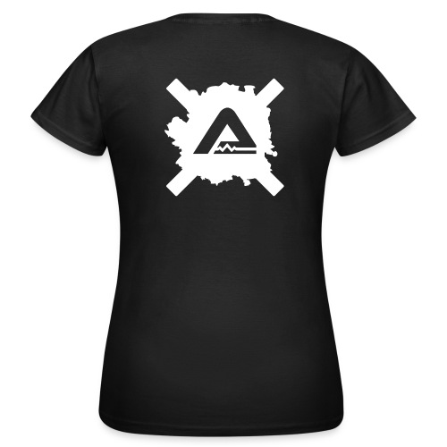White A Logo standard TS Woman - Women's T-Shirt