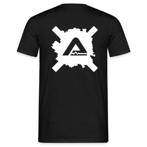 White A Logo standard TS Man - Men's T-Shirt