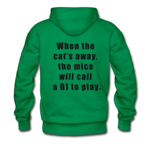 Cat SW Man Black EN - Men's Premium Hoodie