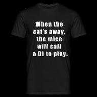 T-Shirts ~ Men's T-Shirt ~ Cat basic TS Man EN
