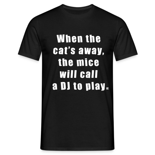 Cat basic TS Man EN - Men's T-Shirt