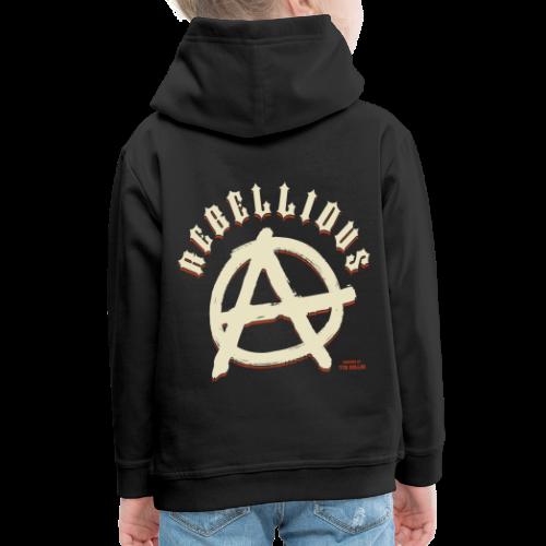 Rebellious - Pull à capuche Premium Enfant