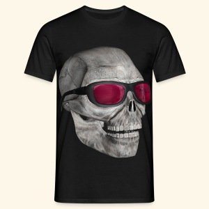 Skull Sunglasses - Now on sale! - Men's T-Shirt