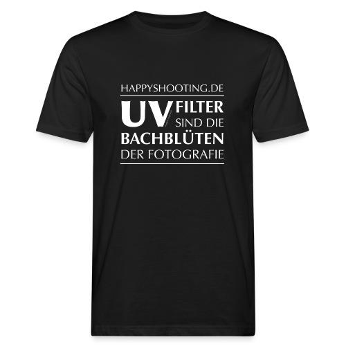T-Shirt Bachblüten Bio - Männer Bio-T-Shirt