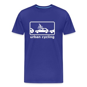 urban cycling - Männer Premium T-Shirt