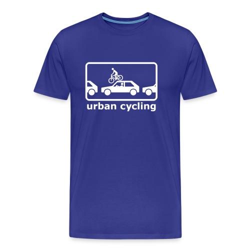 urban cycling - Männer Premium T-Shirt