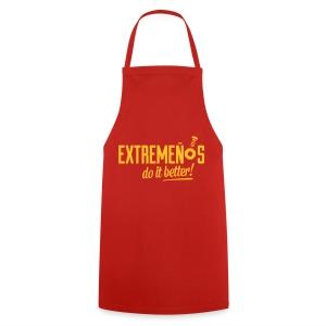 Mandil - Extremeños do it better - Delantal de cocina