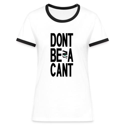DBAC Ladies - Women's Ringer T-Shirt