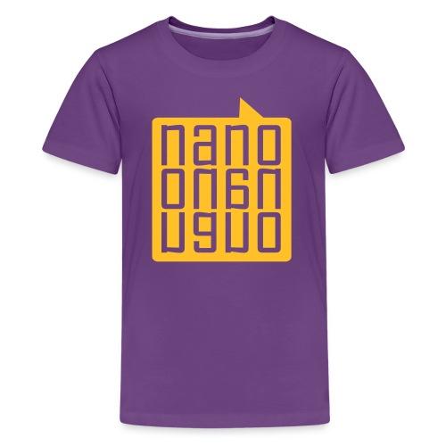 NanoNanoNano ( 9-15 anys) - Camiseta premium adolescente