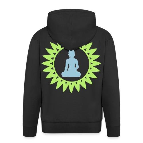Buddha Hoodie - Männer Premium Kapuzenjacke