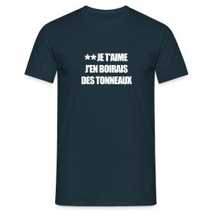 ** JE T'AIME - T-shirt Homme