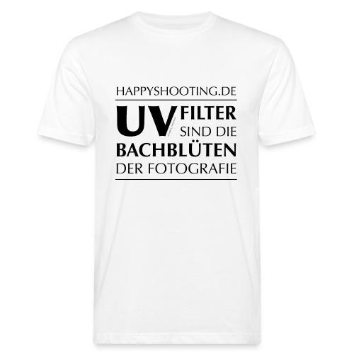 T-Shirt Bachblüten Bio Hell - Männer Bio-T-Shirt