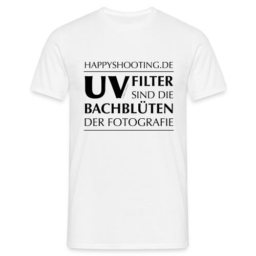 T-Shirt Bachblüten Hell - Männer T-Shirt
