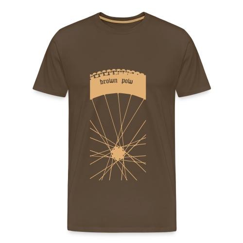 Brown Pow - Men's Premium T-Shirt