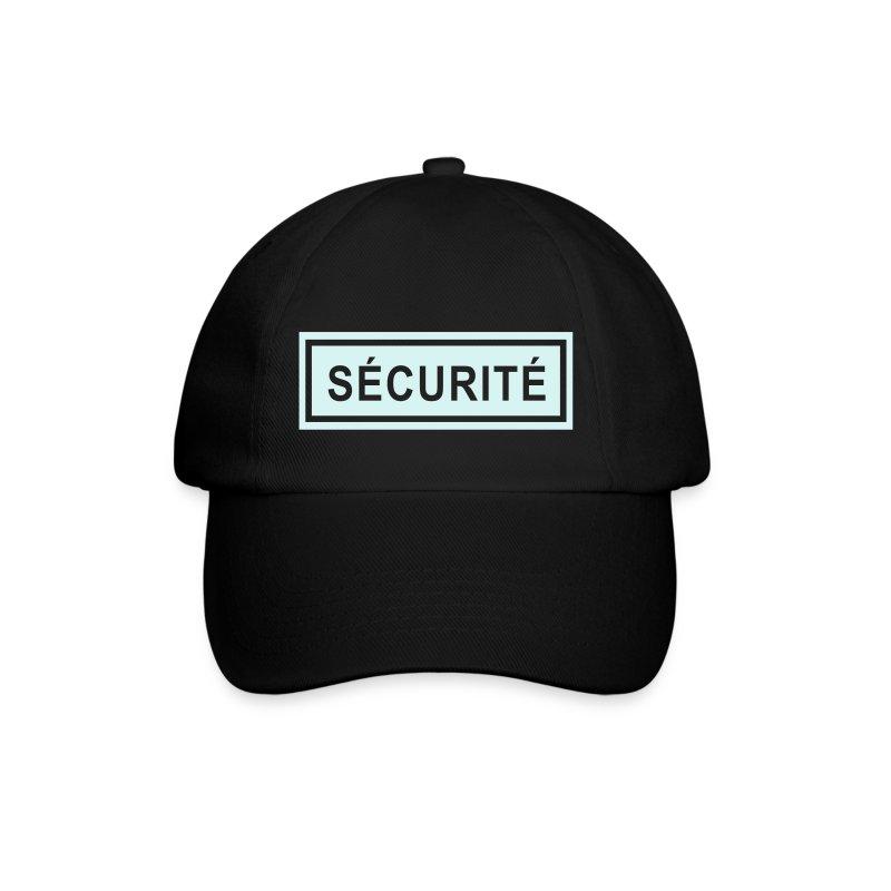 Casquette ecusson s curit horiz spreadshirt - Code promo private sport shop frais de port ...