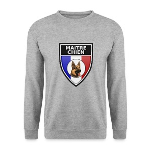 Ecusson Maitre-chien Berger allemand - Sweat-shirt Homme