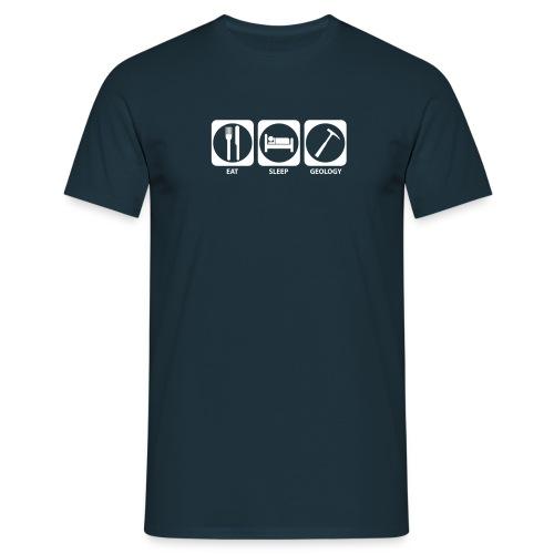 Eat, Sleep, Geology - T-shirt Homme