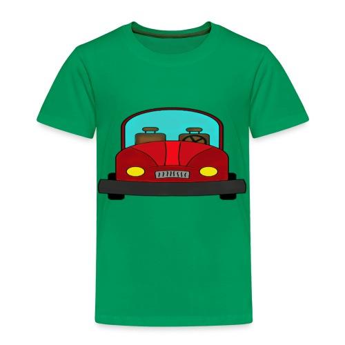 Autot - Lasten premium t-paita