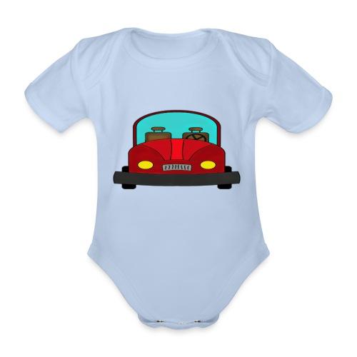 Autot - Vauvan lyhythihainen luomu-body