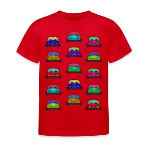Autot - Lasten t-paita