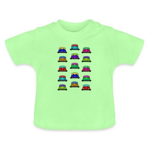 Autot - Vauvan t-paita
